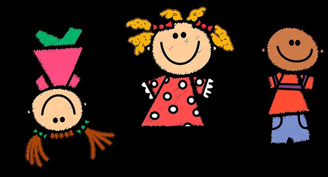 obrazek bawiących się dzieci